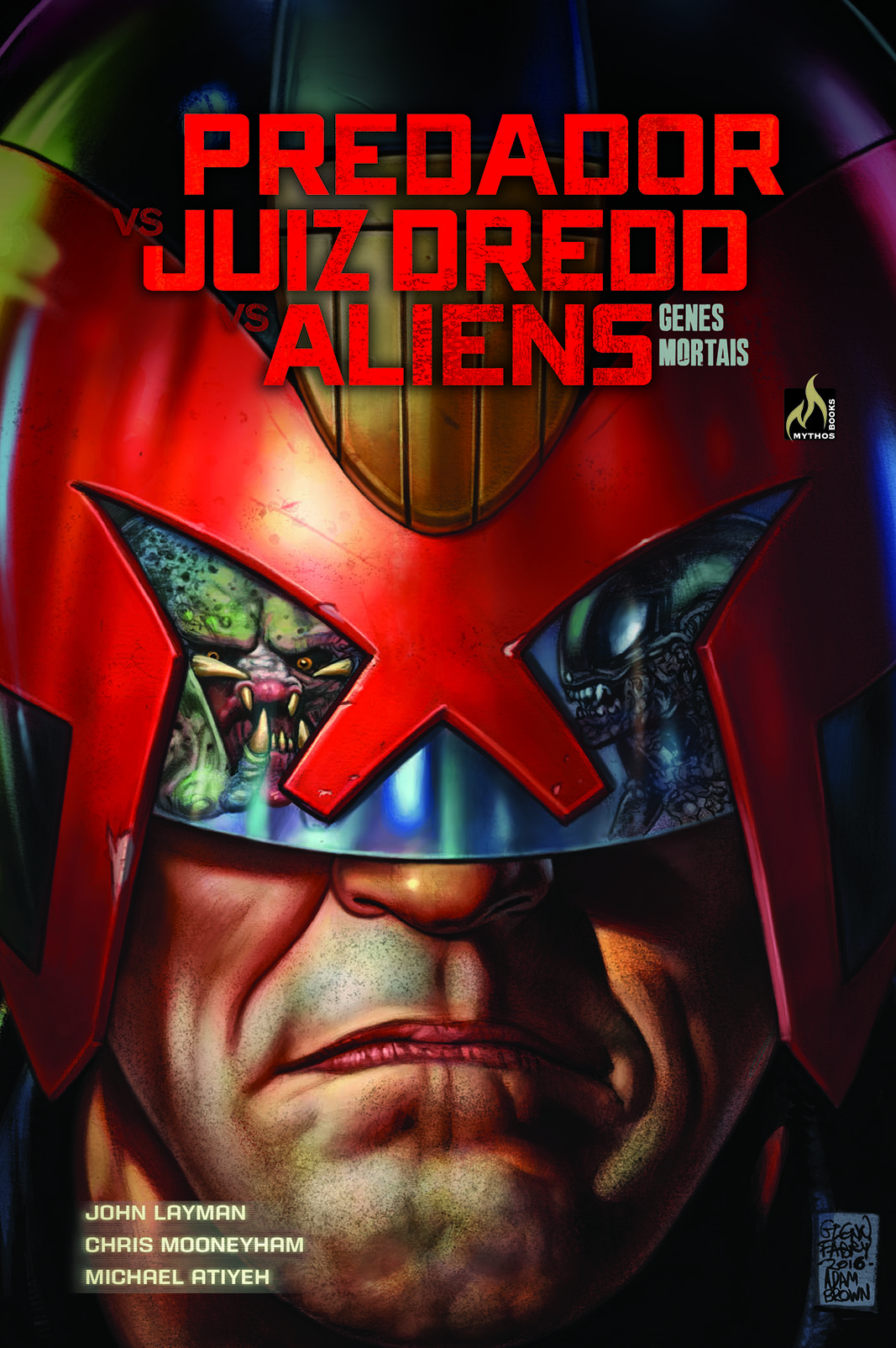 PREDADOR VS. JUIZ DREDD VS. ALIENS - GENES MORTAIS