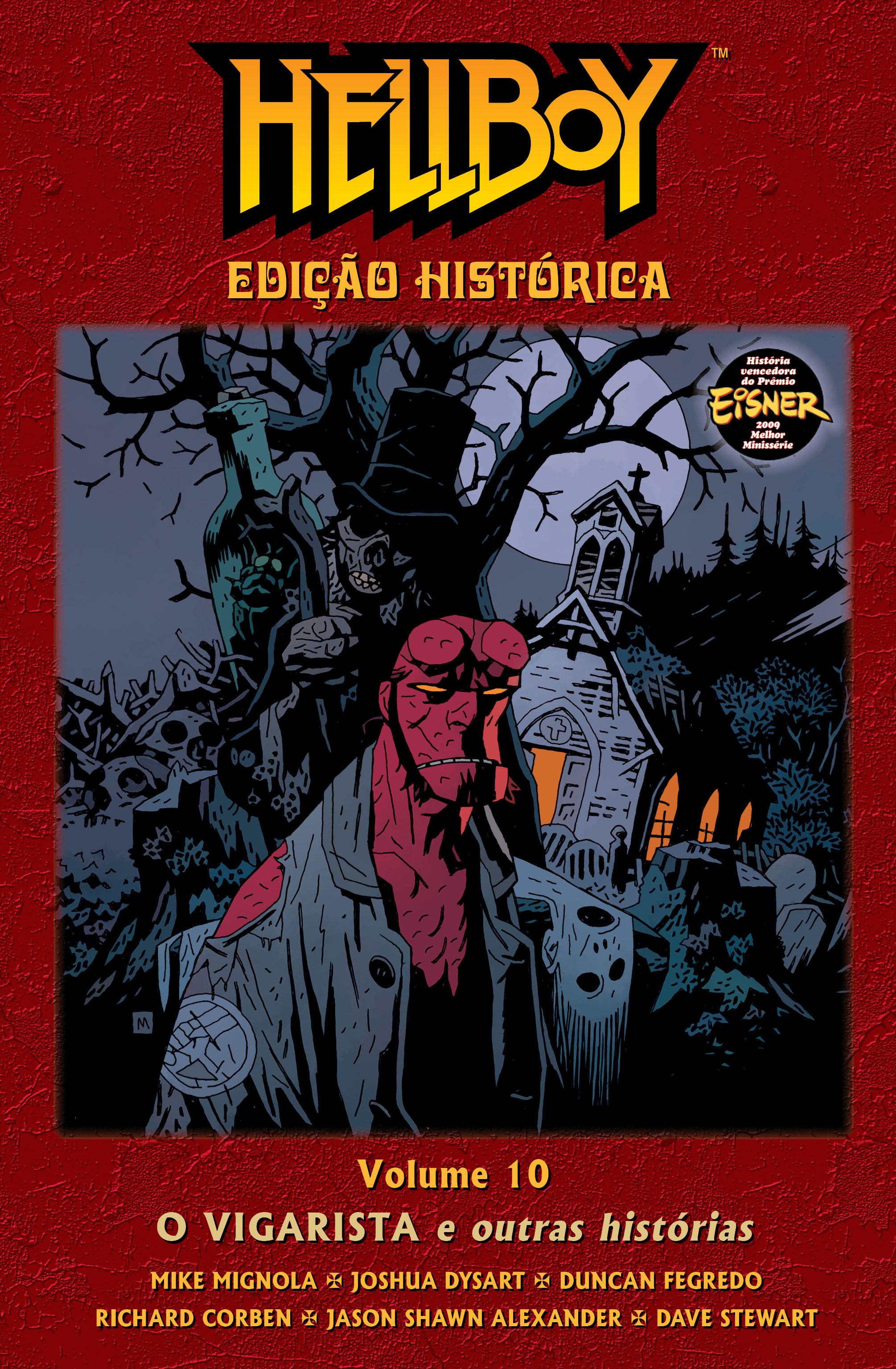 HELLBOY ED HISTÓRICA VOL. 10