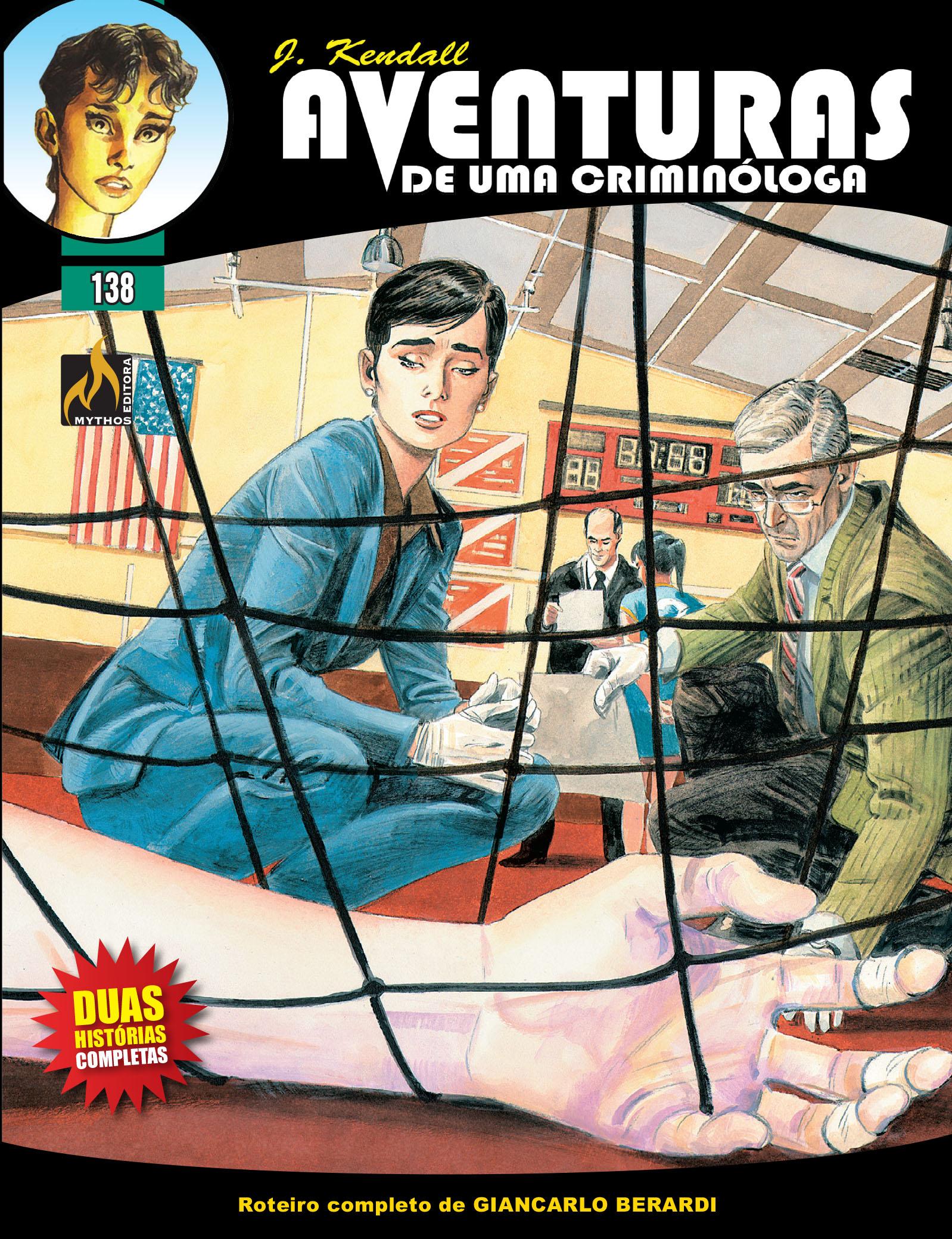 J KENDALL Nº 138 AVENTURAS DE UMA CRIMINÓLOGA
