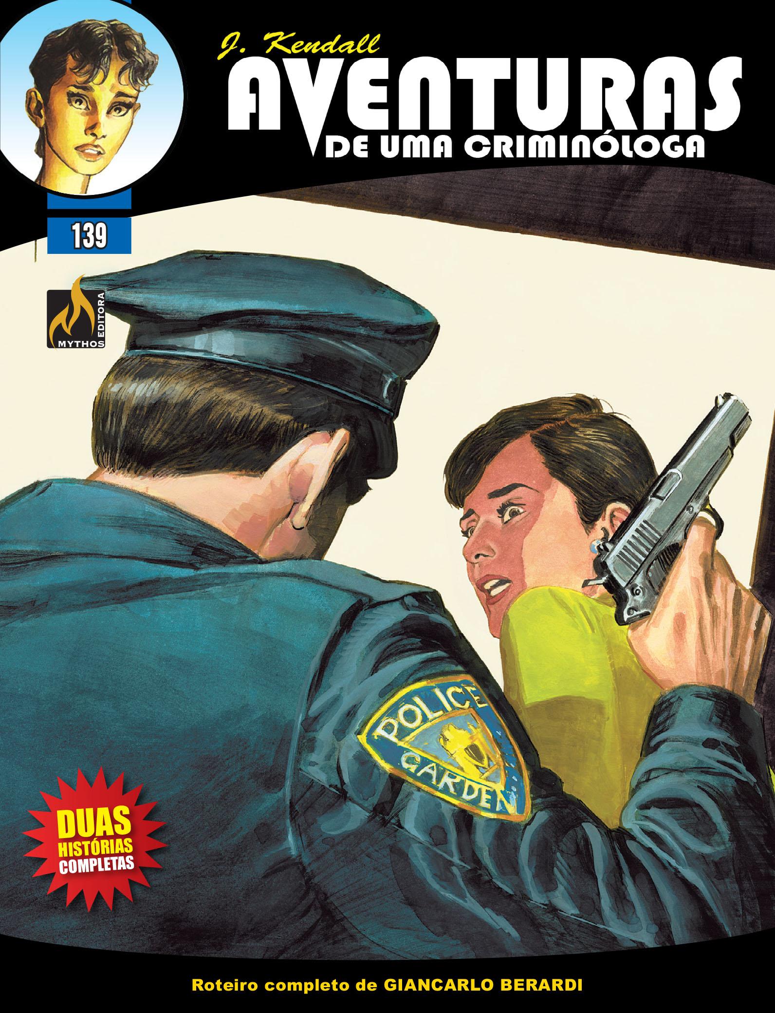 J KENDALL Nº 139 AVENTURAS DE UMA CRIMINÓLOGA