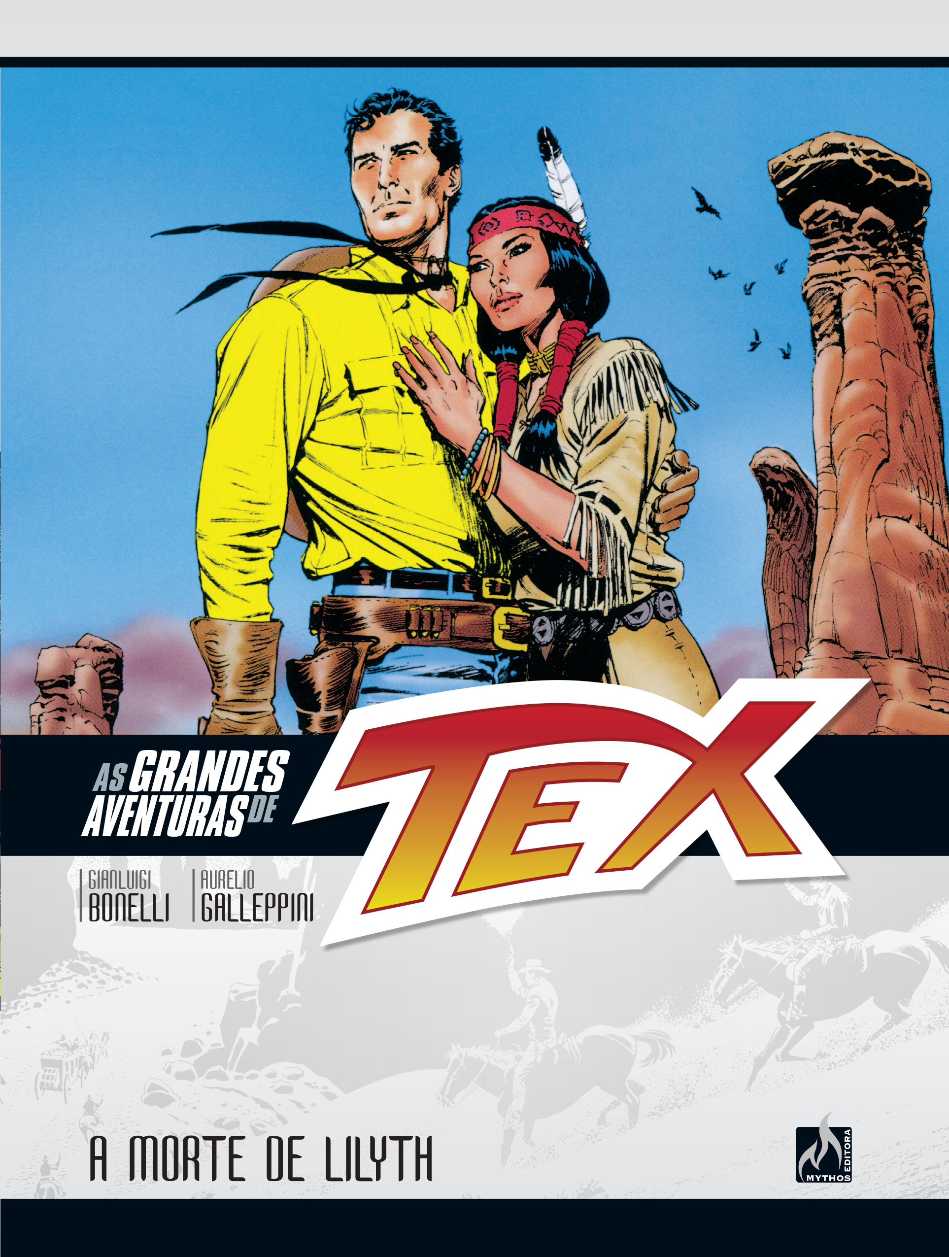 AS GRANDES AVENTURAS DE TEX VOL. 1
