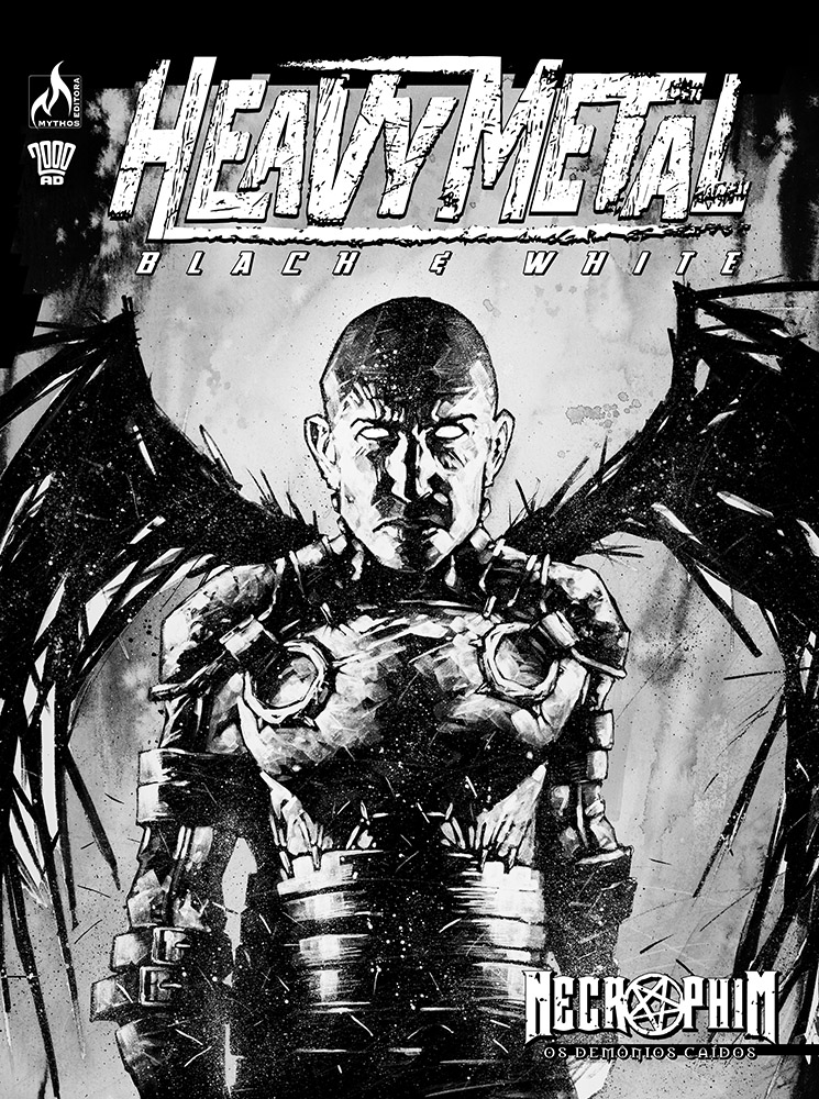 HEAVY METAL - BLACK & WHITE
