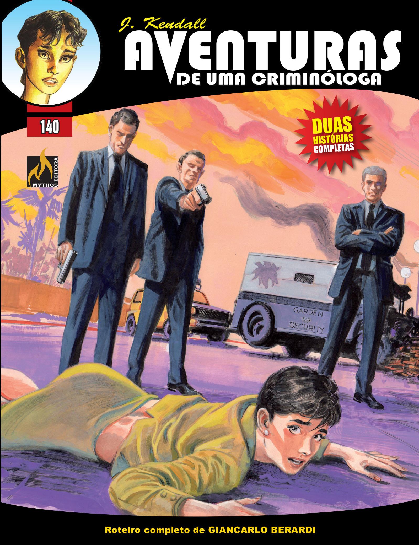 J KENDALL Nº 140 AVENTURAS DE UMA CRIMINÓLOGA