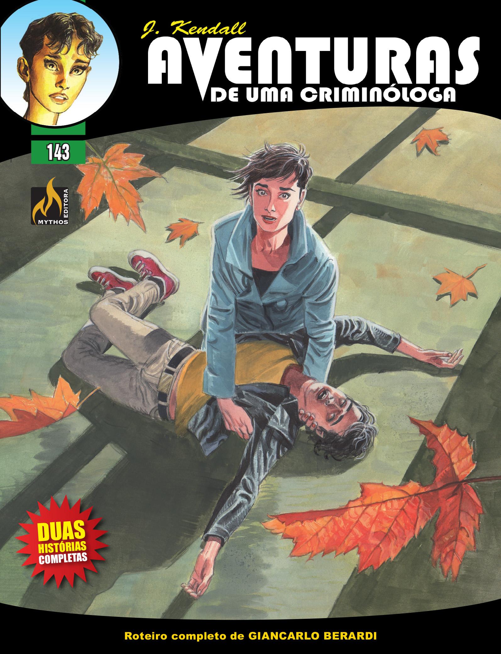 PRÉ-VENDA J KENDALL Nº 143  AVENTURAS DE UMA CRIMINÓLOGA  (NOVEMBRO/2019)