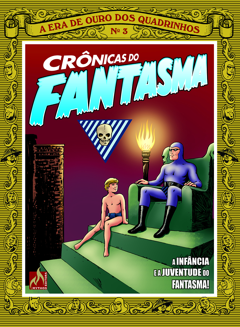 CRÔNICAS DO FANTASMA VOL. 3