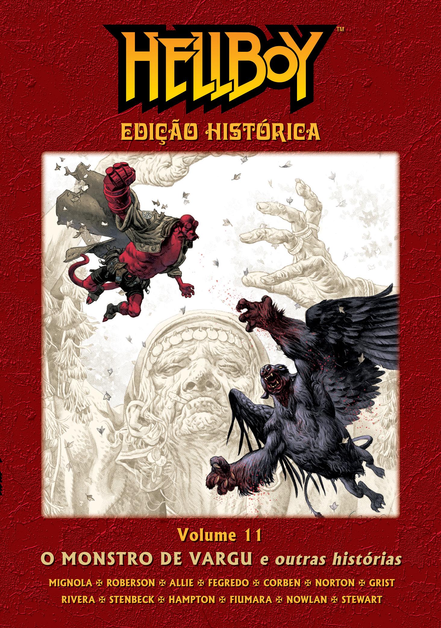 HELLBOY ED HISTÓRICA VOL. 11