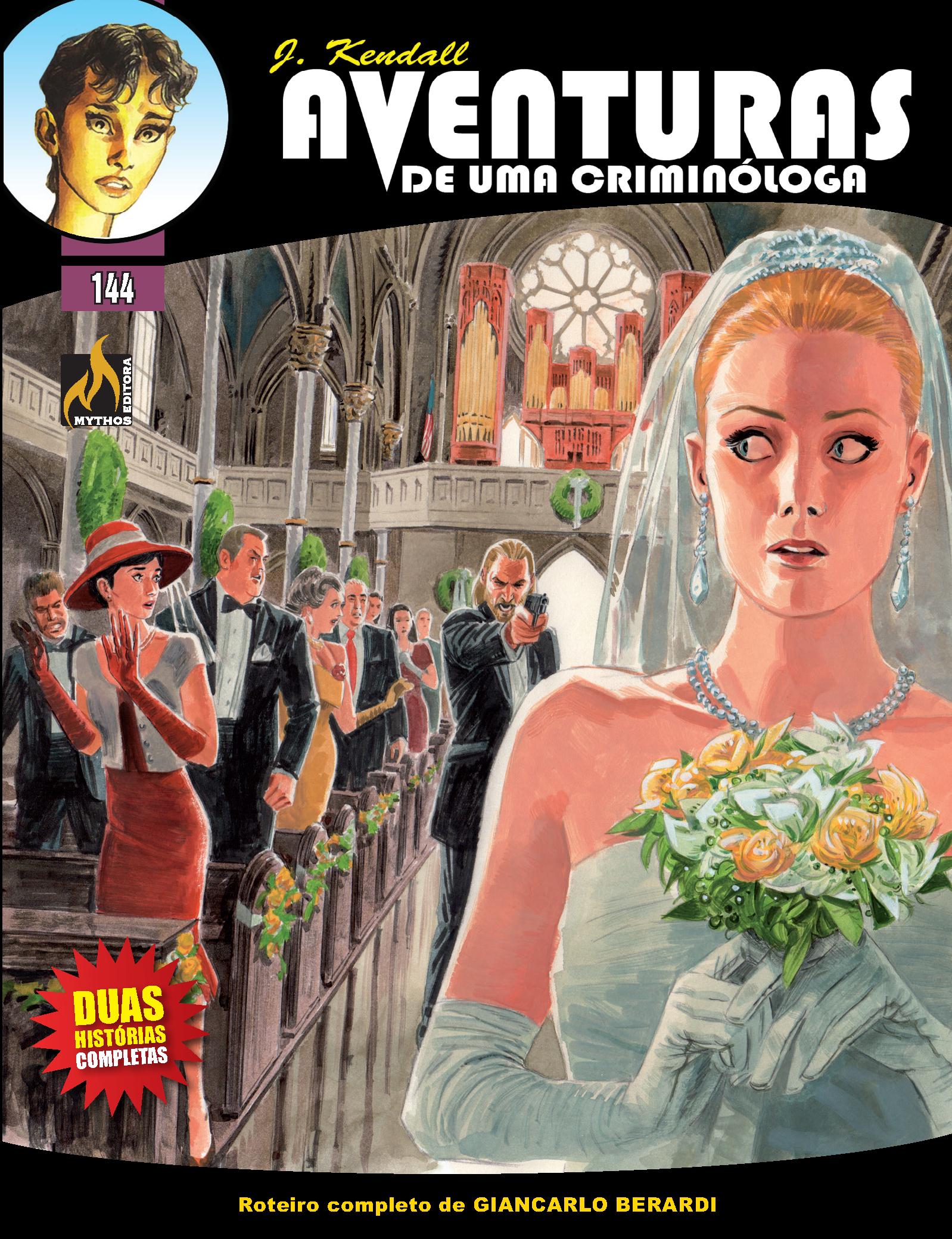 J KENDALL Nº 144 AVENTURAS DE UMA CRIMINÓLOGA