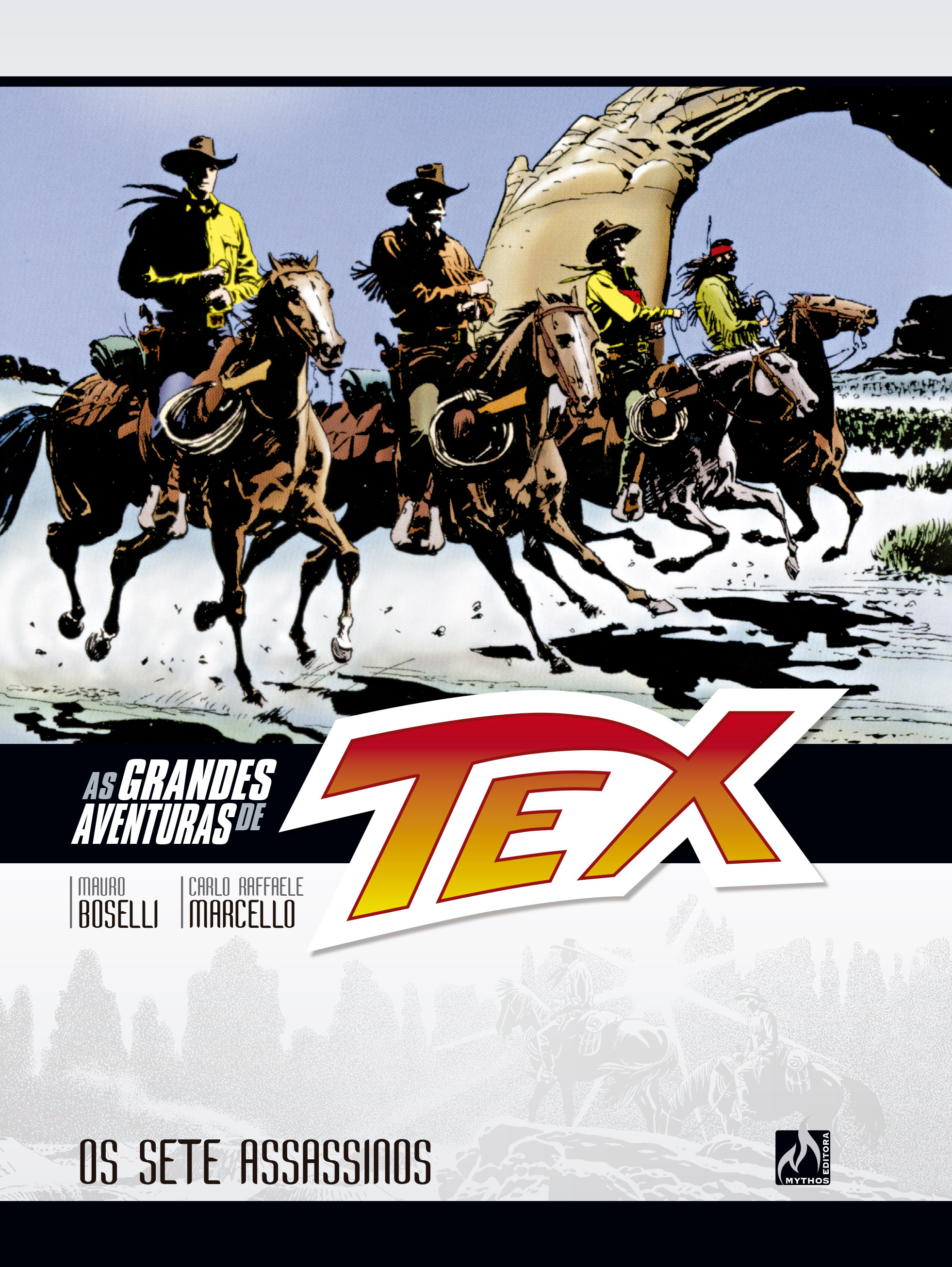AS GRANDES AVENTURAS DE TEX VOL. 6