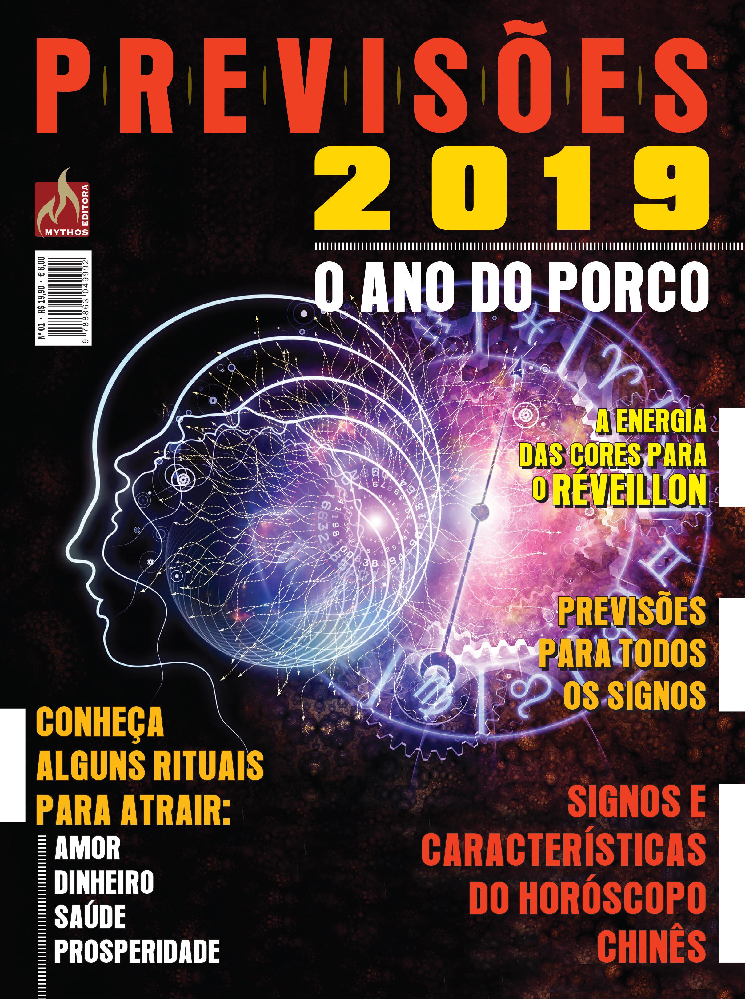 PREVISÕES 2019 Nº 01